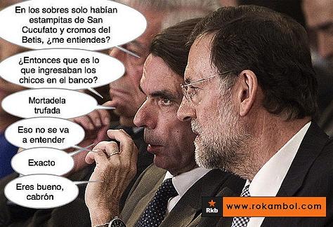 La contabilidad de Bárcenas demuestra los sobresueldos a la cúpula del PP. Rajoy-sobres-rkb-ok