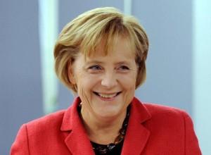 Merkel, contenta con España