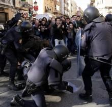 Policías agredidos por onomatopeyas