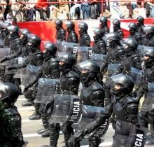 Los nuevos policías antidisturbios reducirán el paro un 5 %