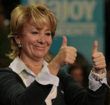 Esperanza Aguirre y Eurovegas