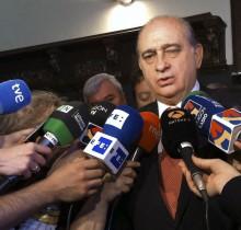 El ministro del Interior comunica la nueva tasa de manifestación