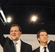 Rajoy y Feijóo