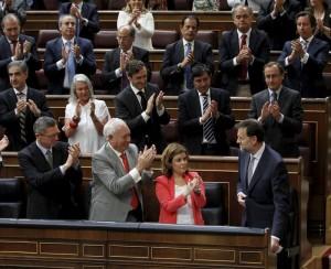 La mayoría absoluta del PP vuelve a impedir que Rajoy sea considerado un cretino