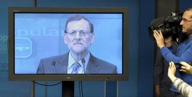 Rajoy nombra ministro a su monitor de plasma
