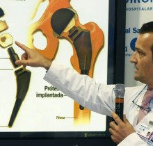 La prótesis de cadera del Rey lleva un 27 % de menú escolar
