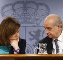 """El Gobierno cree que el asalto a Blanquerna está entre """"feo"""" y """"supermal"""""""