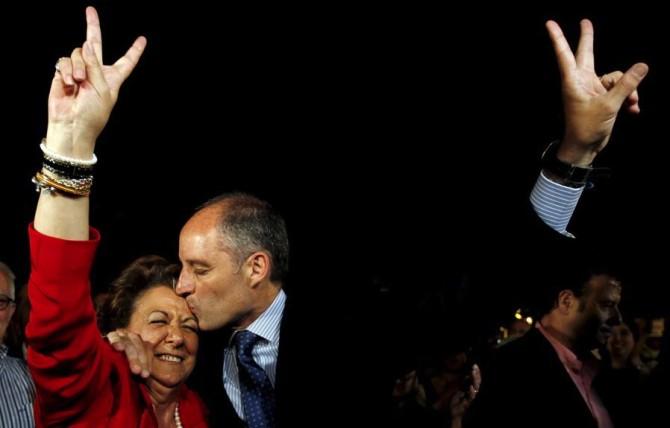 Valencia celebra sus cien imputados con una mascletá de 85 millones de euros