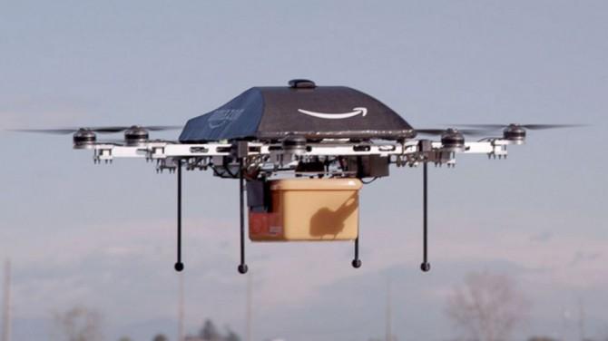 El Gobierno usará drones de Amazon para orinar sobre los ciudadanos