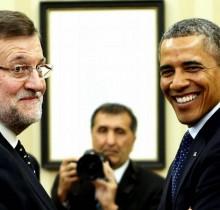La Casa Blanca escondió la cubertería de plata una hora antes de la llegada de Rajoy
