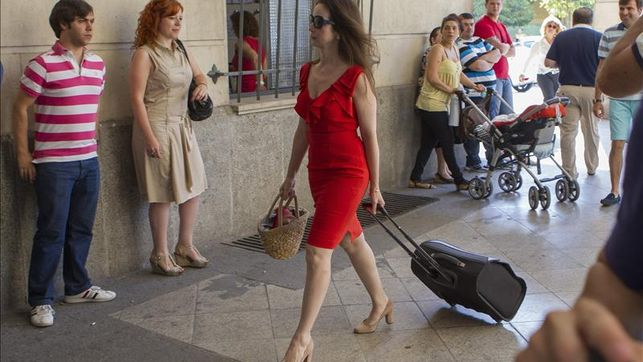 La jueza Alaya desfilará en la pasarela Cibeles para David Delfín