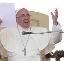 Los guionistas del Vaticano añadirán más humor al personaje de Francisco