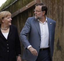 Metkel destaca el buen nivel de idioma español de Rajoy