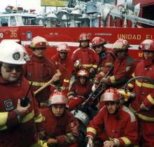 Los bomberos creen que la mitad de los corazones están rotos