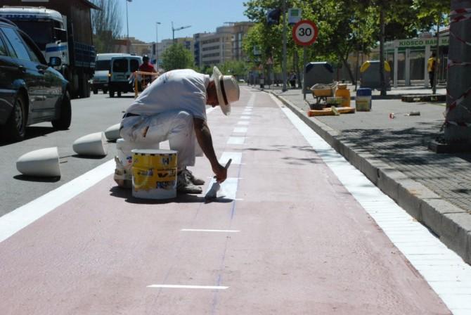 Valladolid, primera ciudad española en implantar el carril mujer
