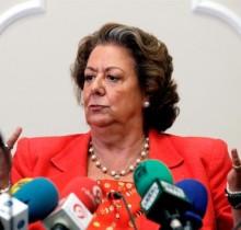 Rita Barberá amenaza con dar una patada en la corteza terrestre