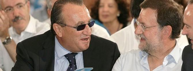 Rajoy seguirá confiando en Carlos Fabra mientras no viole a otros reclusos