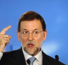 Rajoy confirma que Dios les devolverá a los españoles todo lo que el PP les ha arrebatado