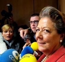 Rita Barberá confirma que dará una patada en la corteza terrestre el día 13 de junio