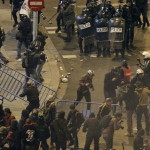 Cientos de periodistas se manifiestan en Madrid contra la verdad de las cosas