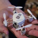Un dron sobrevolará la cabeza de Rajoy cuando hable en inglés