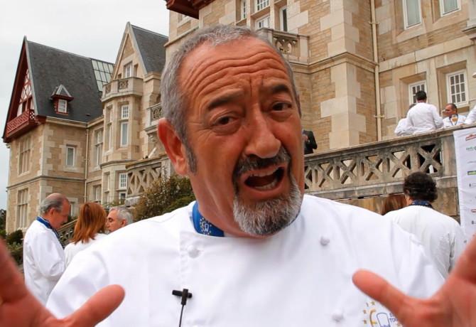 Karlos argui ano enfurece a rajoy por negarse a cocinar for Como cocinar jabali arguinano
