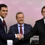 """El debate Sánchez-Rajoy inclina el voto de los indecisos hacia """"La Madre que los parió a los dos"""""""