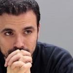 Alberto Garzón, ingresado en el hospital 12 de Octubre tras intentar unirse a sí mismo