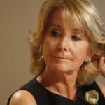 La condesa consorte, Esperanza Aguirre, asciende a delincuente consorte