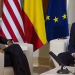 Obama, fiel a la tradición española, le dio a Rajoy un azucarillo en la boca