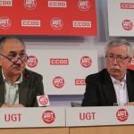 CCOO y UGT anuncian que seguirán haciéndose el muerto hasta que Rajoy pierda los nervios