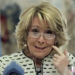Madrid se plantea ahora que Esperanza Aguirre deje de hablar los días impares