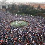 Cien mil personas contarán hoy, a la vez, un chiste de Carrero Blanco en la Plaza de Cibeles