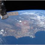 El plumero de Albert Rivera ya es más visible que la Muralla China desde la Estación Espacial Internacional