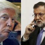 Usarán la conversación entre Trump y Rajoy para abrir una puerta estelar
