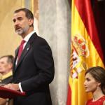 Felipe VI revela que en España no hubo elecciones desde 1939 a 1977
