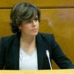 Soraya Sáenz de Santamaría ordena la vuelta de la eñe en toda Catalunya