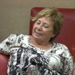 Los veterinarios desmienten que un asno de doscientos kilos haya invadido el cuerpo de Celia Villalobos