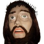 Agotadas las caretas de Jesucristo para carnaval con la multa prepago de 480 euros ya incluida